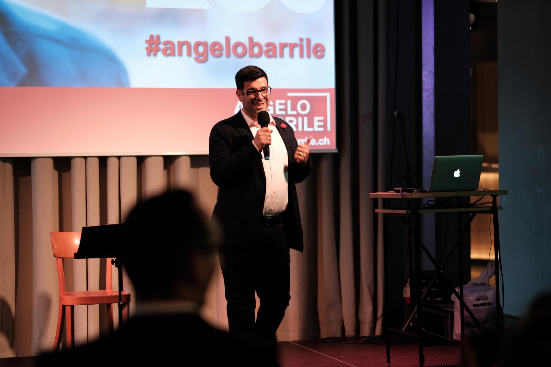 Angelo stellt seine Wahlkampagne 2019 vor