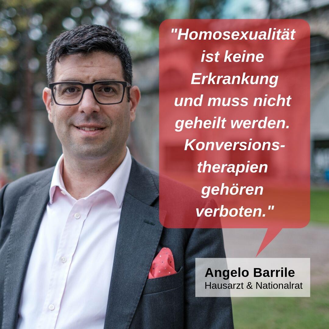 """""""Homosexualität ist keine Erkrankung und muss nicht geheilt werden. Konversionstherapien gehören verboten."""""""