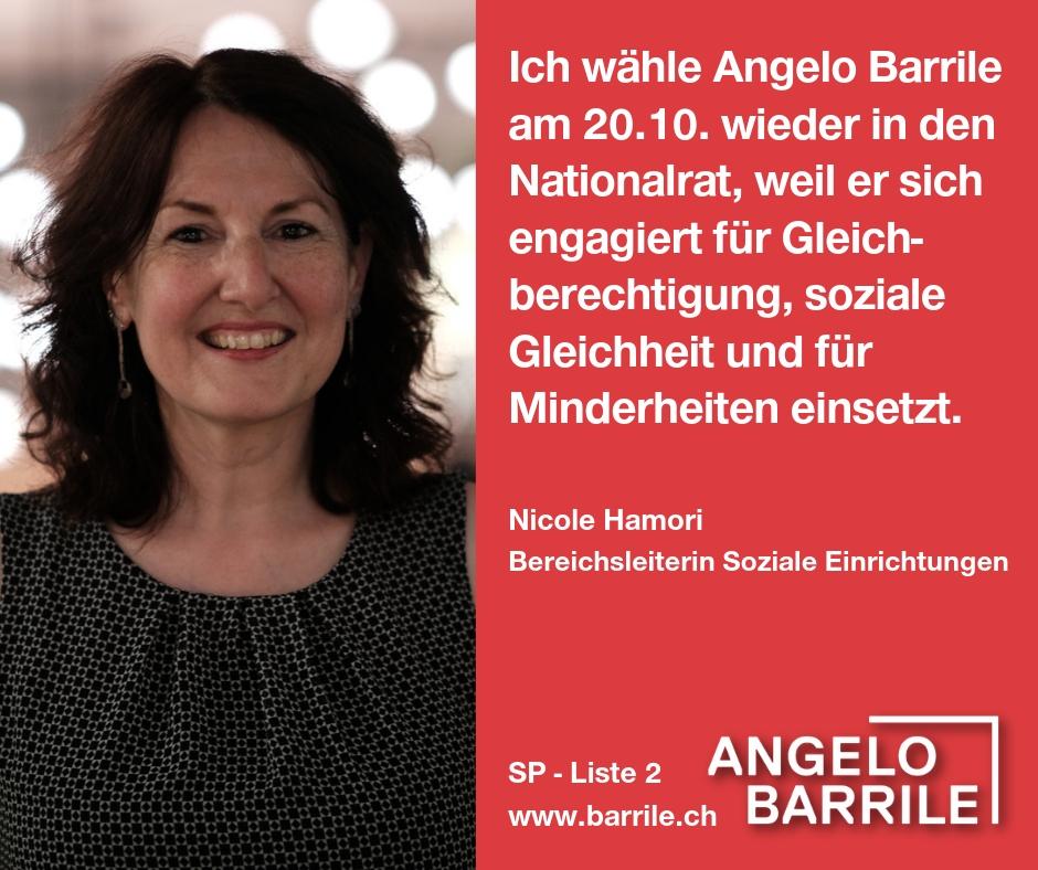 Nicole Hamori, Bereichsleiterin Soziale Einrichtungen
