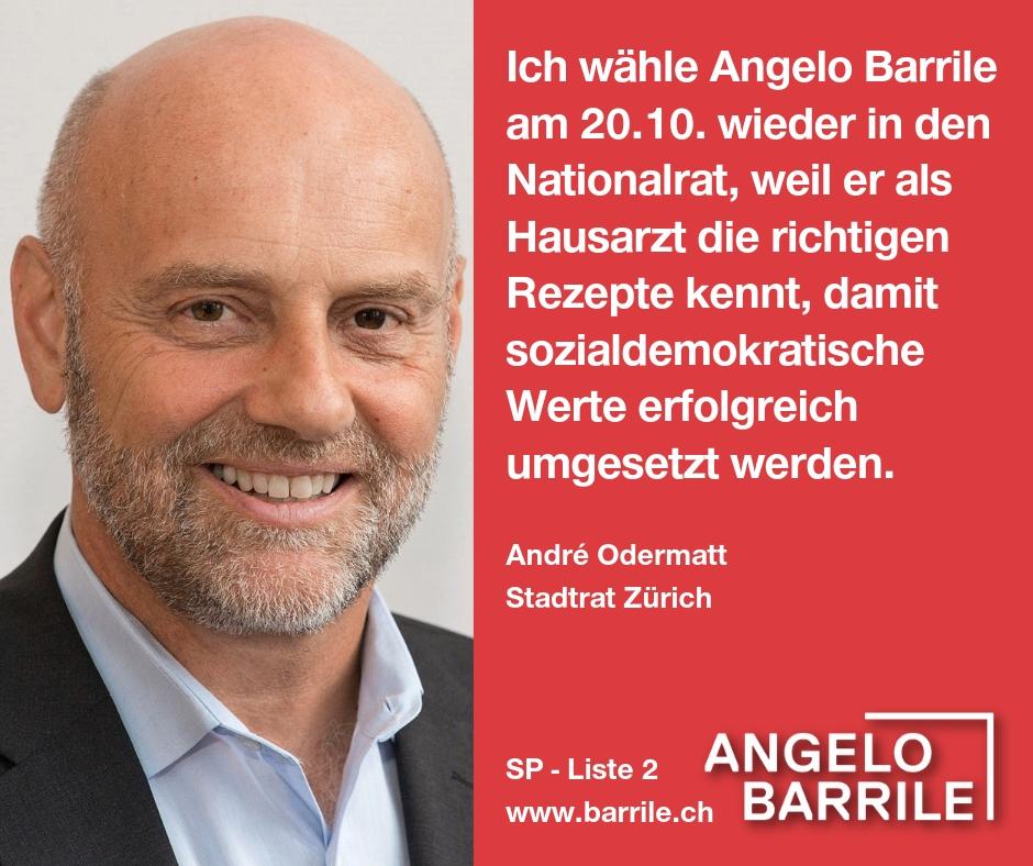 André Odermatt, Stadtrat Zürich