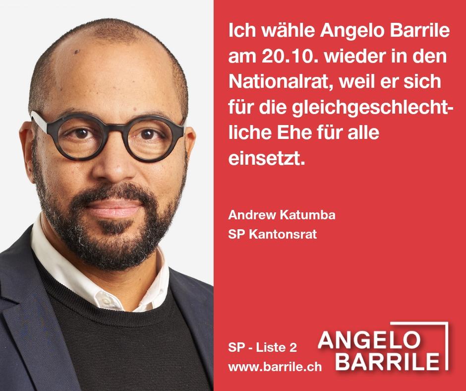 Andrew Katumba, SP Kantonsrat