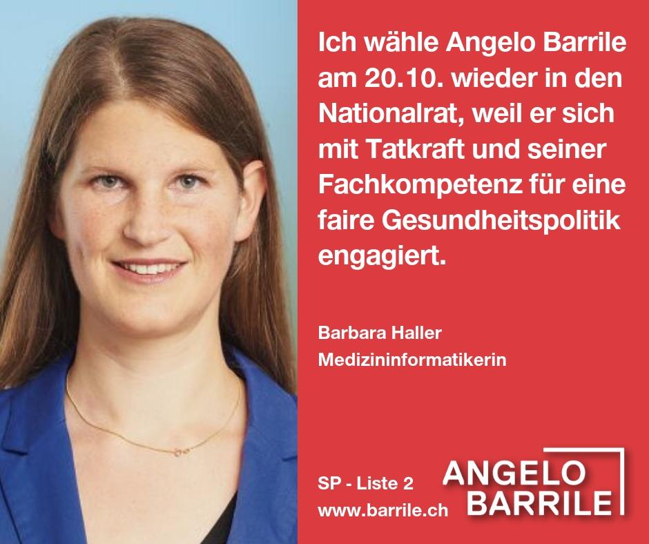 Barbara Haller, Medizininformatikerin