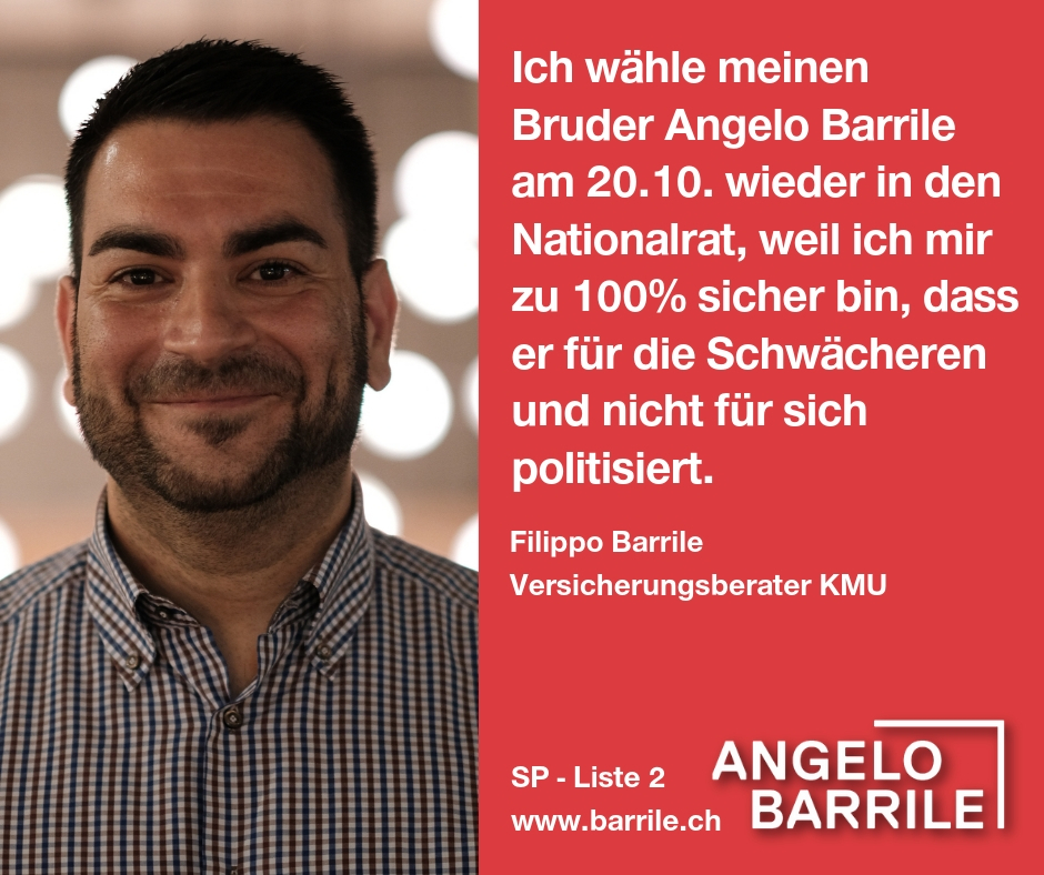Filippo Barrile, Versicherungsberater KMU