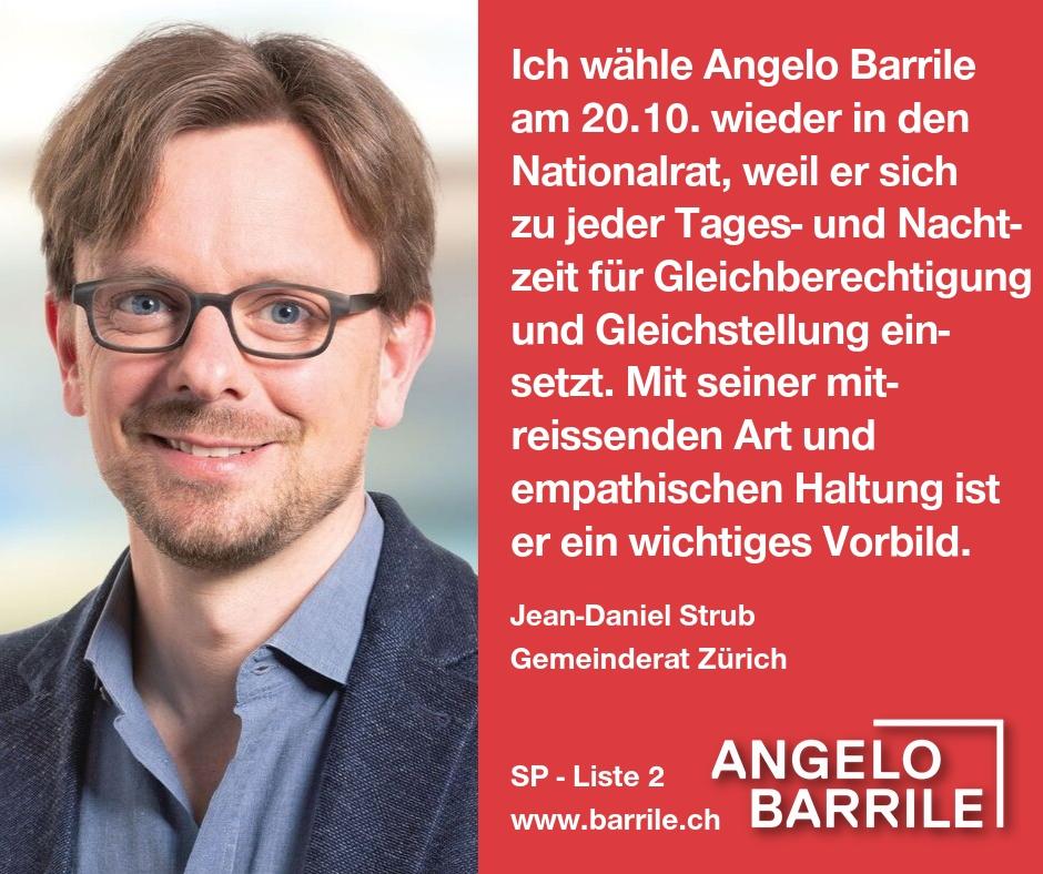 Jean-Daniel Strub, Gemeinderat Zürich
