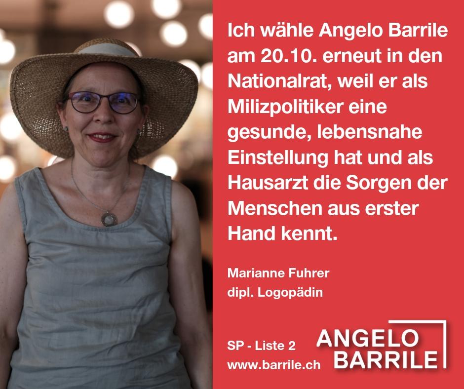 Marianne Fuhrer, dipl. Logopädin