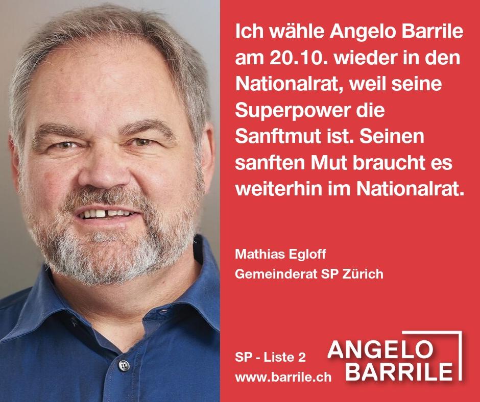 Mathias Egloff, Gemeinderat Zürich