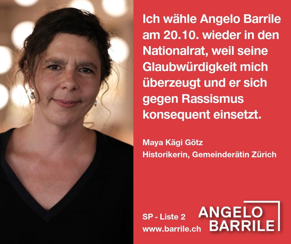 Maya Kägi Götz, Historikerin, Gemeinderätin Zürich