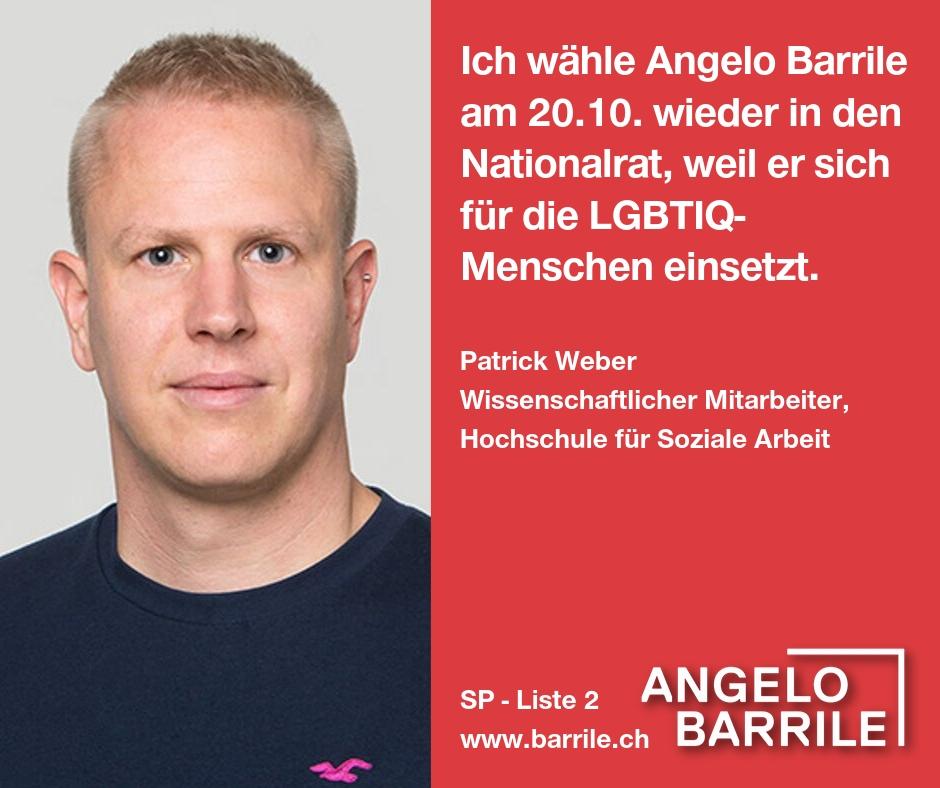 Patrick Weber, Wissenschaftlicher Mitarbeiter, Hochschule für soziale Arbeit