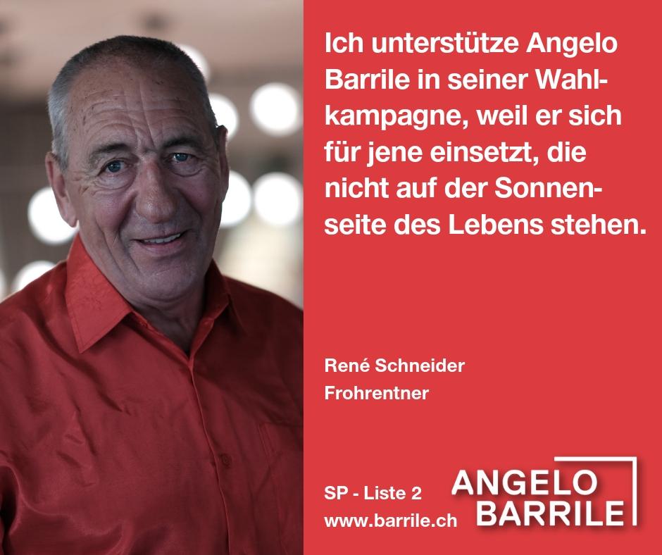 René Schneider, Frohrentner
