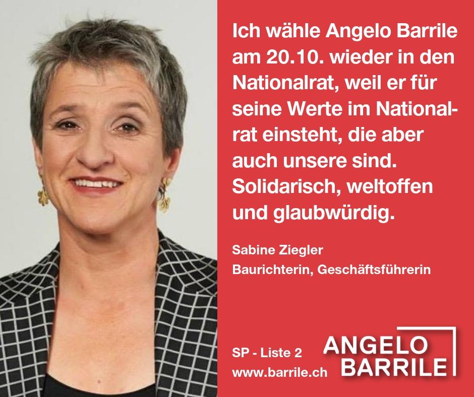 Sabine Ziegler, Baurichterin, Geschäftsführerin