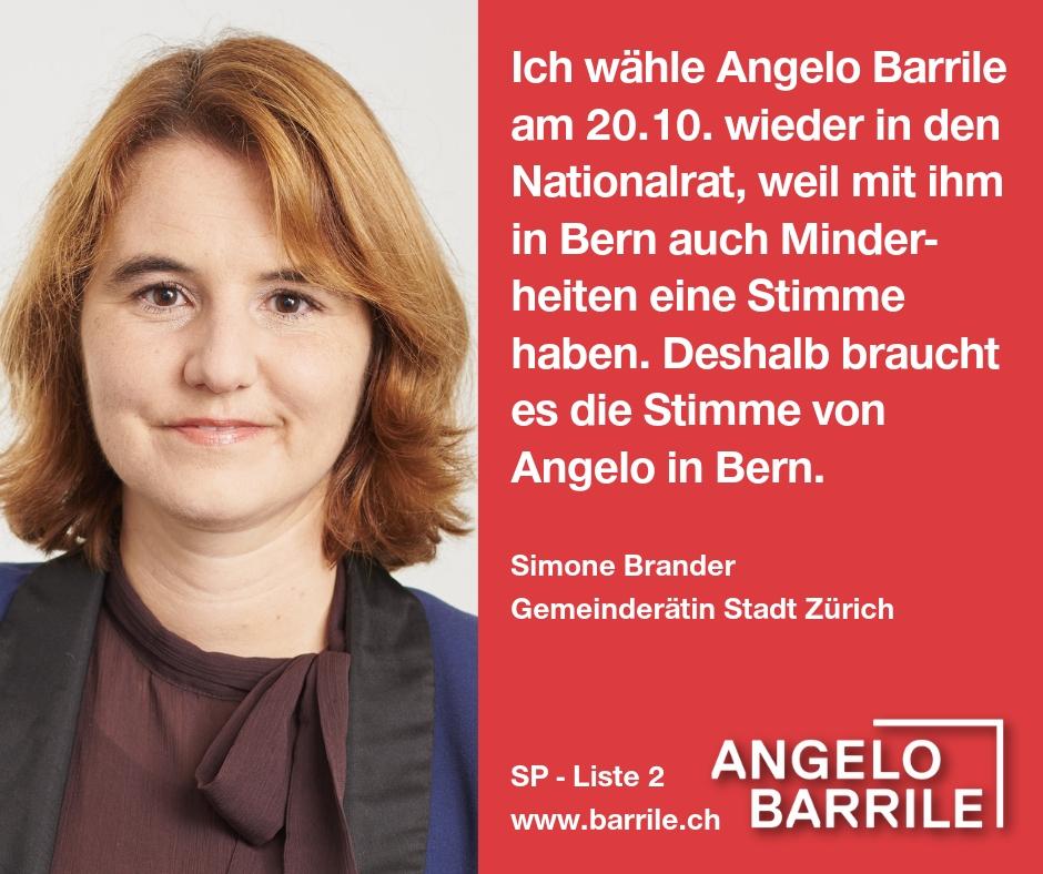 Simone Brander, Gemeinderätin Stadt Zürich