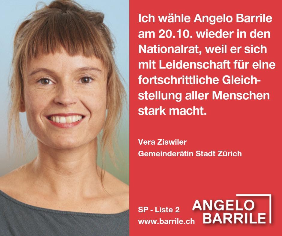 Vera Ziswiler, Gemeinderätin Stadt Zürich