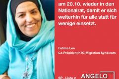 Fatima Lee, Co-Präsidentin IG Migration Syndicom