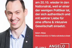 Islam Alijaj, Webentwickler und Nationalratskandidat