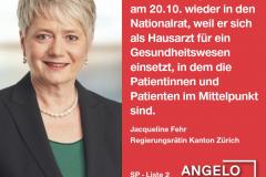 Jacqueline Fehr, Regierungsrätin Kanton Zürich