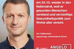 Urs Helfenstein, Japanologe, Gemeinderat Züric