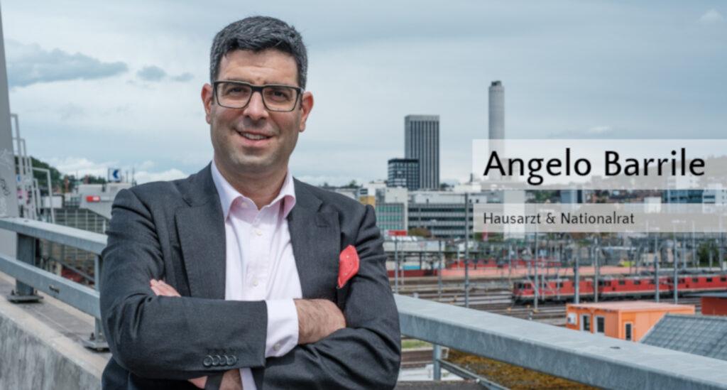 Angelo Barrile, Hausarzt & Nationalrat